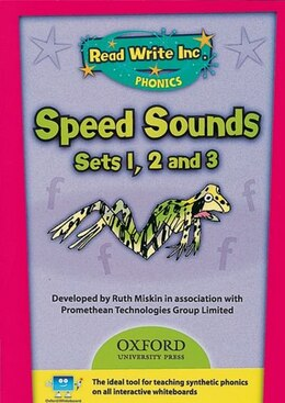 Book Speed Sounds CD-ROM by Ruth Miskin
