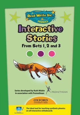 Book Read Write Inc. Phonics: Interactive Stories CD-ROM 1 Multi User by Ruth Miskin