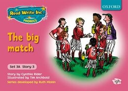 Book Read Write Inc. Phonics: Fiction Set 3A (Pink) Mixed Pack of 5 (1 of each title) by Cynthia Rider