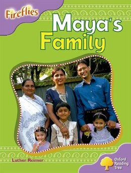 Book Oxford Reading Tree: Stage 1+: Fireflies Mayas Family by Roderick Hunt
