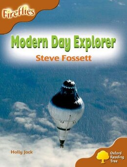 Book Oxford Reading Tree: Stage 8: Fireflies Modern Day Explorer by Roderick Hunt