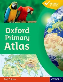 Book Oxford Primary Atlas Paperback by Patrick Wiegand