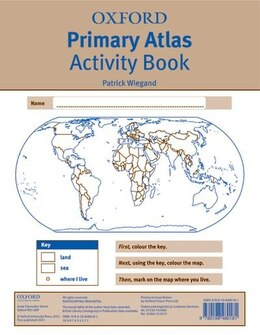 Book Oxford Primary Atlas Activity Book (2011) by Patrick Wiegand