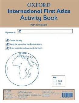 Book Oxford International First Atlas Activity Book (2011) by Patrick Wiegand