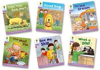 Oxford Reading Tree: Stage 1+ More First Sentences C: Pack of 6