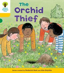 Book Oxford Reading Tree: Stage 5: Decode and Develop The Orchid Thief by Roderick Hunt