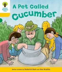 Book Oxford Reading Tree: Stage 5: Decode and Develop A Pet Called Cucumber by Roderick Hunt