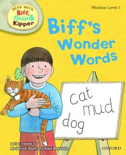 Book Oxford Reading Tree Read With Biff, Chip, and Kipper: Phonics: Level 1 Biffs Wonder Words by Roderick Hunt