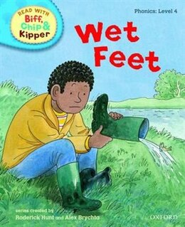 Book Oxford Reading Tree Read With Biff, Chip, and Kipper: Level 4: Phonics Wet Feet by Roderick Hunt