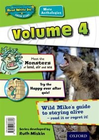 Book Read Write Inc. Fresh Start: More Anthologies Volume 4 Pack of 5 by Gill Munton