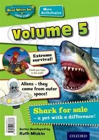 Book Read Write Inc. Fresh Start: More Anthologies Volume 5 Pack of 5 by Gill Munton
