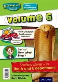 Book Read Write Inc. Fresh Start: More Anthologies Volume 6 Pack of 5 by Gill Munton