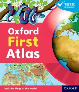 Book Oxford First Atlas Hardback 2011 by Patrick Wiegand
