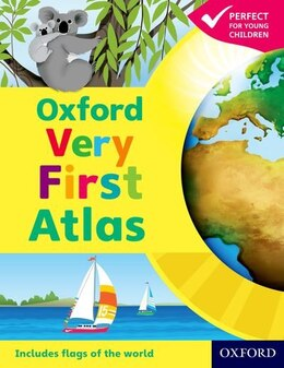 Book Oxford Very First Atlas Paperback 2011 by Patrick Wiegand