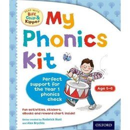 Book Oxford Reading Tree Read With Biff, Chip, and Kipper: Level 5 and 6 My Phonics Kit by Laura Sharp