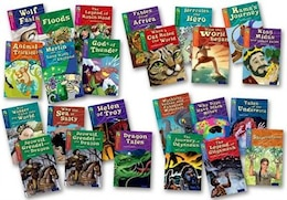 Book Oxford Reading Tree TreeTops Myths and Legends: Levels 10-17 Super Easy Buy Pack by Oxford