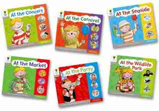 Oxford Reading Tree: Floppy Phonics Sounds and Letters Stage 1 More A Pack of 6 by Roderick Hunt