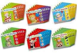 Book Oxford Reading Tree: Floppy Phonics Sounds and Letters Stage 1 More A Class Pack of 36 by Roderick Hunt