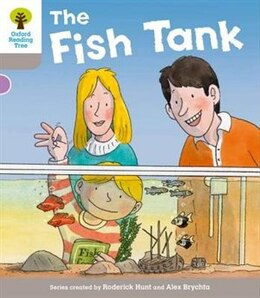 Book Oxford Reading Tree: Level 1 More a Decode and Develop The Fish Tank by Roderick Hunt