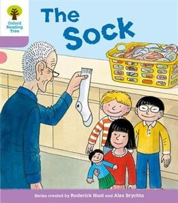 Book Oxford Reading Tree: Level 1+ More a Decode and Develop The Sock by Roderick Hunt