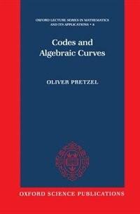 Codes and Algebraic Curves