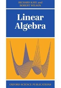 Book Linear Algebra by Richard Kaye