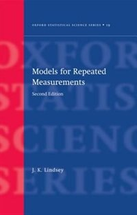 Book Models for Repeated Measurements by J. K. Lindsey