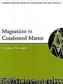 Magnetism in Condensed Matter