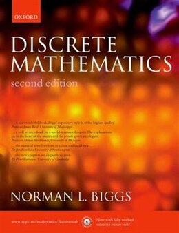 Book Discrete Mathematics by Norman L. Biggs