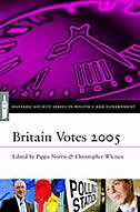 Book Britain Votes 2001 by Pippa Norris