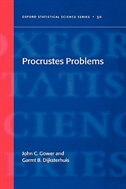 Book Procrustes Problems by John C Gower