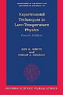 Book Experimental Techniques in Low-Temperature Physics: Fourth Edition by Guy White