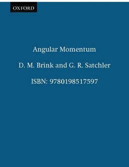 Book Angular Momentum by D. M. Brink