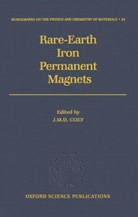 Book Rare-Earth Iron Permanent Magnets by J. M. D. Coey