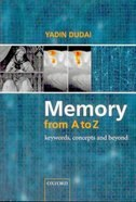 Memory from A to Z: Keywords, Concepts, and Beyond