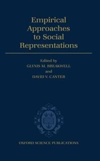 Book Empirical Approaches to Social Representations by Glynis M. Breakwell