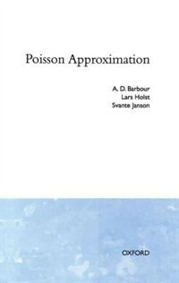 Book Poisson Approximation by A. D. Barbour