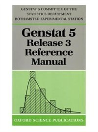 Book GenstatTM 5 Release 3 Reference Manual by R. W. Payne