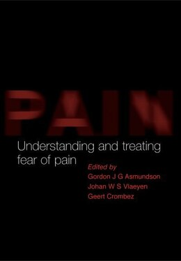 Book Understanding and Treating Fear of Pain by Gordon Asmundson