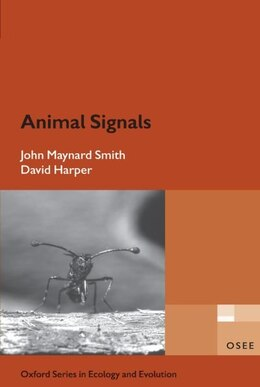 Book Animal Signals by The late John Maynard Smith