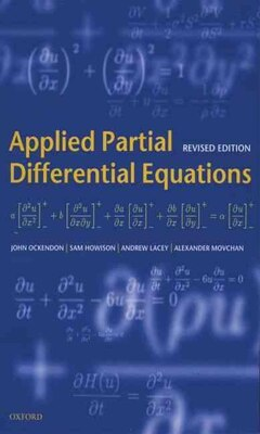 Book Applied Partial Differential Equations by John Ockendon