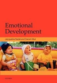 Book Emotional Development: Recent Research Advances by Jacqueline Nadel