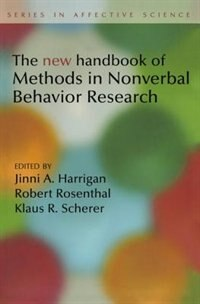 Book New Handbook of Methods in Nonverbal Behavior Research by Jinni Harrigan