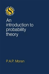 Book An Introduction to Probability Theory by P. A. P. Moran