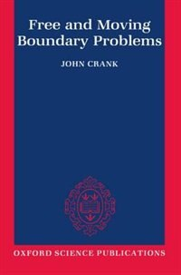 Book Free and Moving Boundary Problems by John Crank