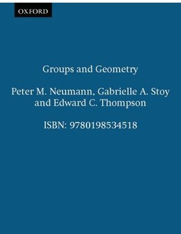 Book Groups and Geometry by Peter M. Neumann
