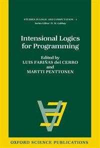 Book Intensional Logics for Programming by Luis Farinas del Cerro