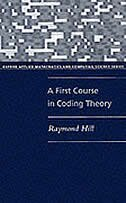 Book A First Course in Coding Theory by Raymond Hill
