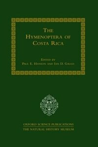 Book The Hymenoptera of Costa Rica by Paul E. Hanson