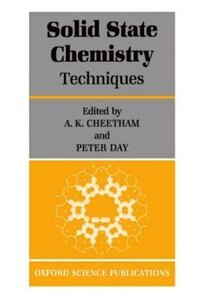 Book Solid-State Chemistry: Techniques by A. K. Cheetham